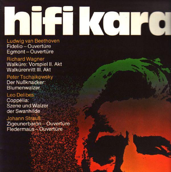 LP Hifi Karajan, Ludwig van Bethoven, Petr Čajkovský... 1977