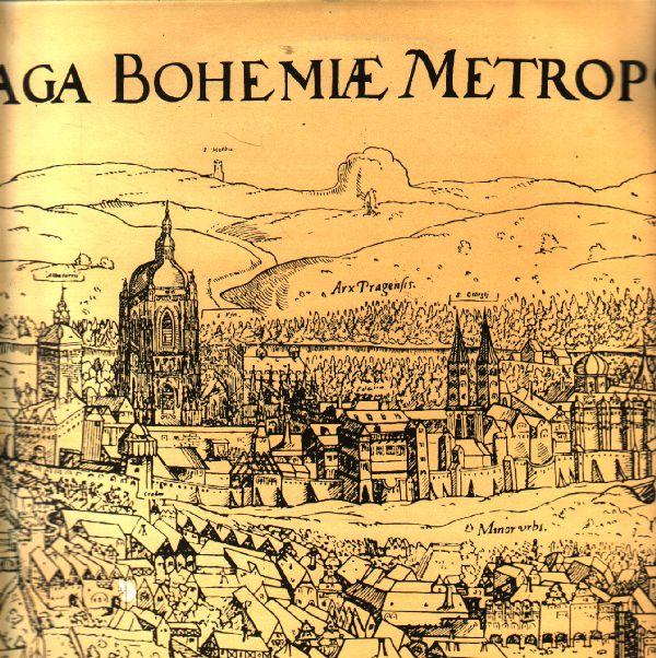 LP Praho, nashledanou, recituje Zdeněk Štěpánek hudba Smetana, Dvořák... 1967