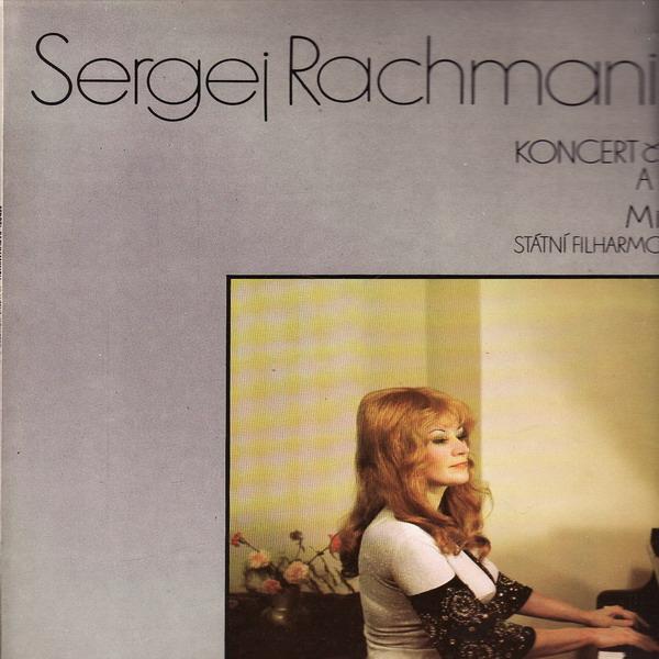 LP Sergej Rachmaninov, Mirka Pokorná, koncert č. 3 d moll pro klavír, 1976