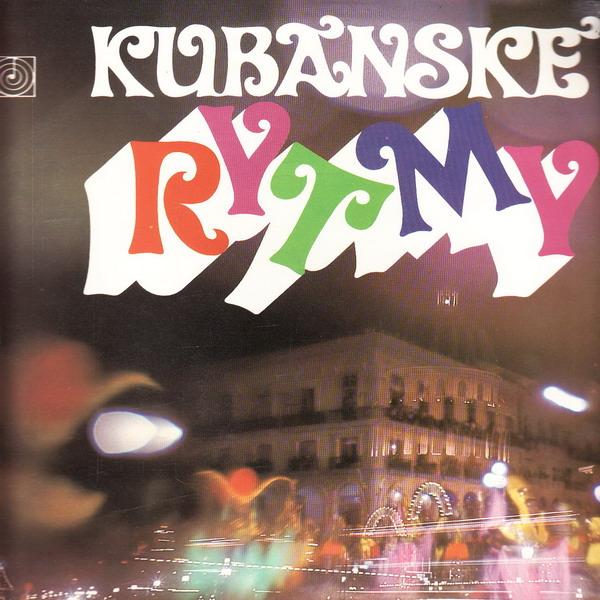 LP Kubánské rytmy. Ritmo de Cuba, 1972