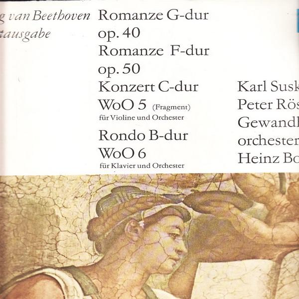 LP Ludwig van Beethoven, Gesamtausgabe, Romanze, 1971 Eterna