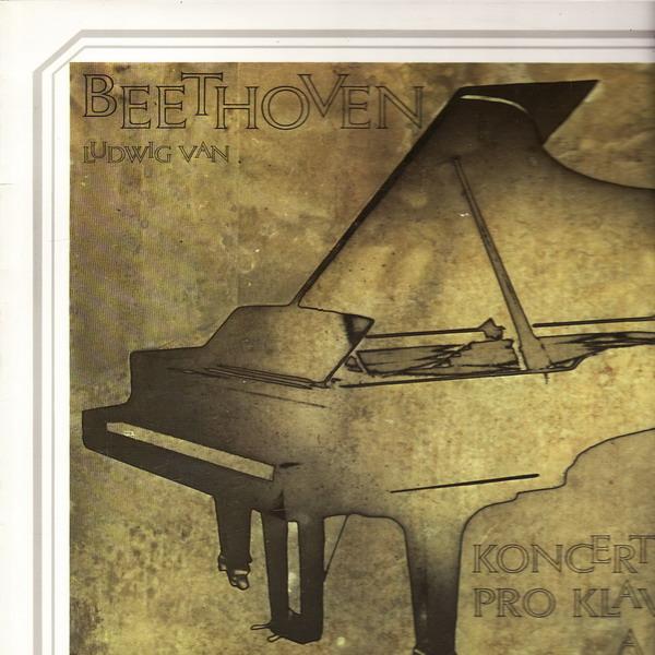 LP Ludwig van Beethoven, koncert č.4 G dur pro klavír a orchestr, 1972