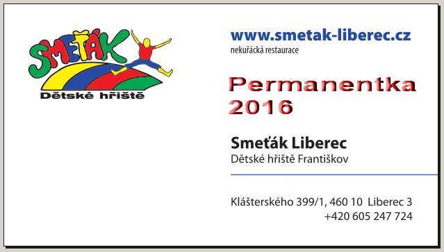 Permanetka, Dětské hřiště Smeťák Liberec, Franiškov