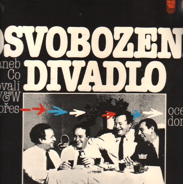 LP Osvobozené divadlo za války aneb Co vzkazovali VW přes oceán domů, 1990