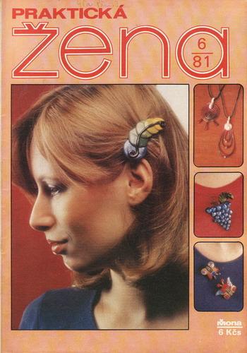 1981/06 časopis Praktická žena / velký formát