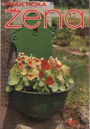 1981/07 časopis Praktická žena / velký formát