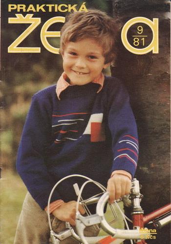 1981/09 časopis Praktická žena / velký formát