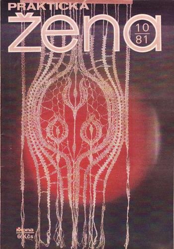 1981/10 časopis Praktická žena / velký formát
