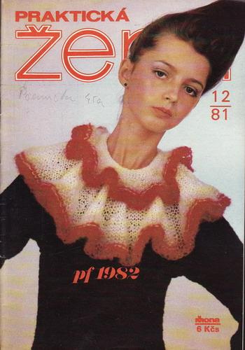 1981/12 časopis Praktická žena / velký formát