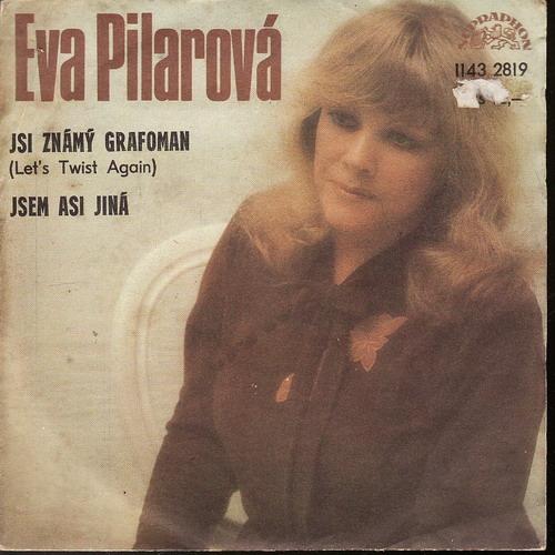 SP Eva Pilarová, Jsi známý grafoman, Jsem asi jiná, 1983