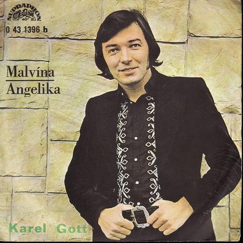 SP Karel Gott, Malvína, Angelika, 1972