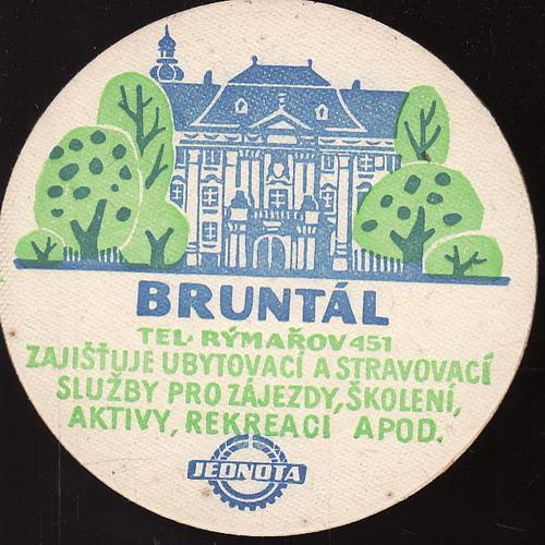 Jednota Bruntál, Rýmařov, mapa
