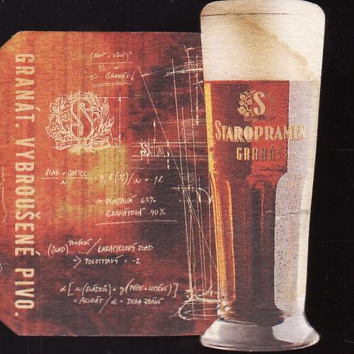 Staropramen Granát, vybroušené pivo