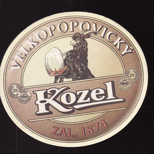 Velkopopovický Kozel, 1874, 11 medium nové pivo od Kozla