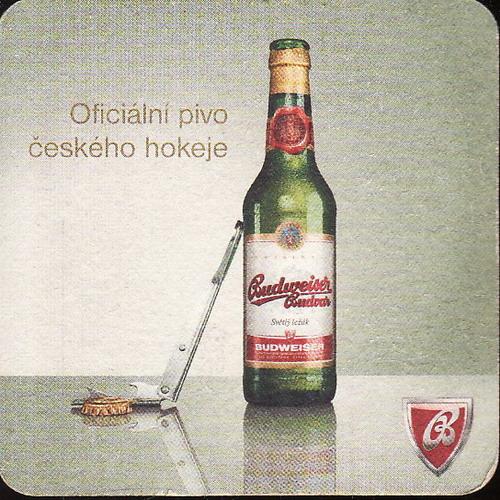 Budweiser Budvar, oficiální pivo českého hokeje