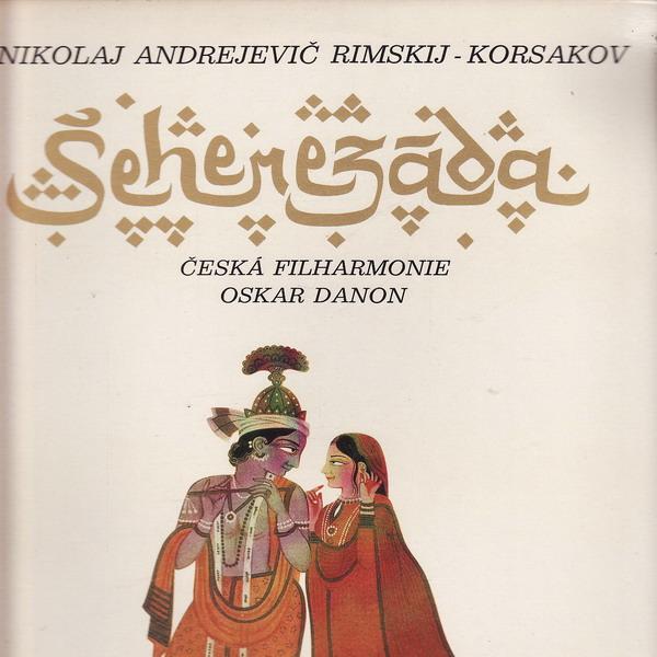 LP Šeherezáda, Nikolaj Andrejevič Rimskij Korsakov, Česká filharmonie, 1970