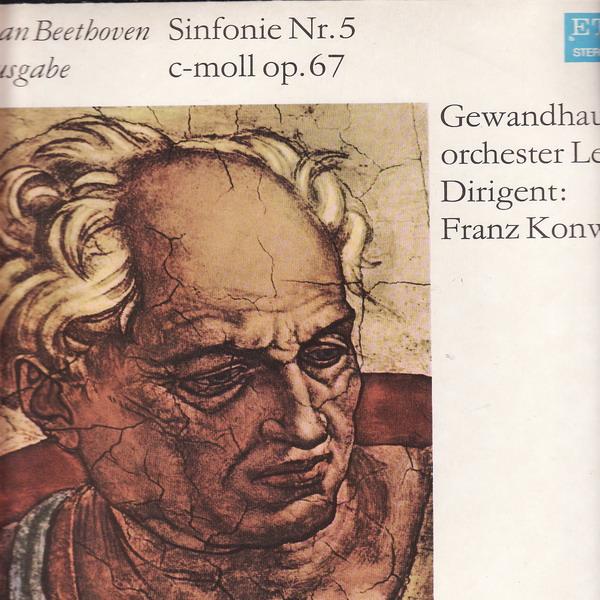 LP Ludwig van Beethoven, Symfonie č.5, c moll op.67, 8 25 414