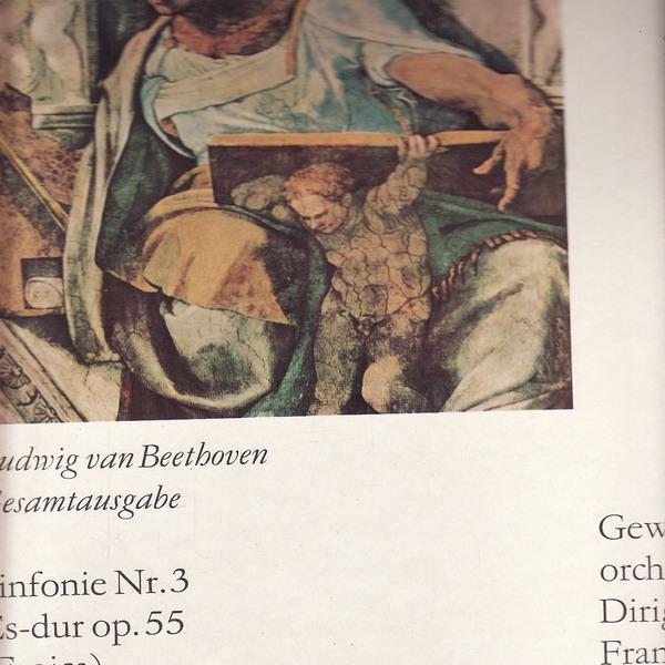 LP Ludwig van Beethoven, Symfonie č.3, Es dur op.55