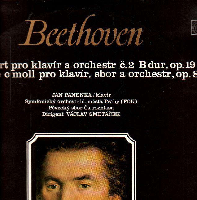 LP Beethoven, koncert pro klavír a orchestr č. 2 B dur, op. 19, 1971