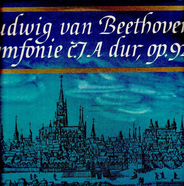LP Ludwig van Beethoven, symfonie č. 7, A dur, op. 92, 1967, DV 6292