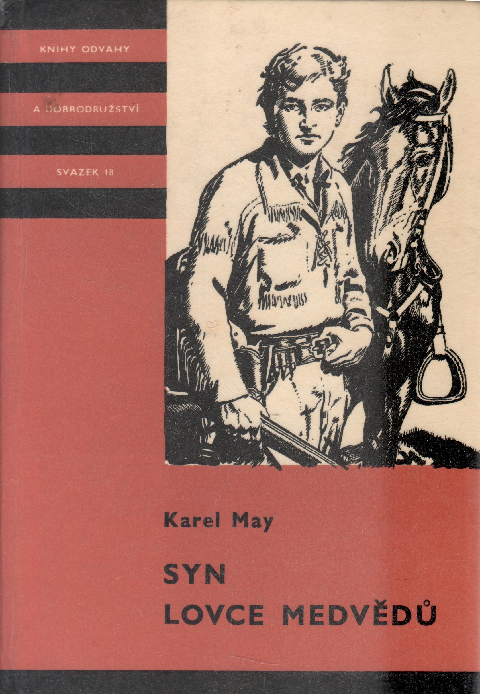 KOD sv. 018 Syn lovce medvědů / Karel May, 1969