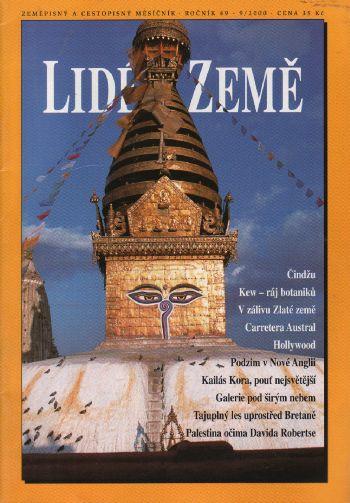 09/2000 Lidé a Země, zeměpisný a cestopisný měsíčník