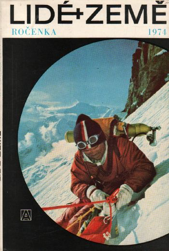 Ročenka 1974 Lidé a Země, zeměpisný a cestopisný měsíčník