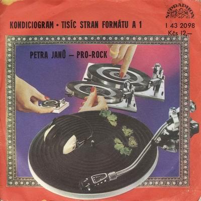 SP Petra Janů - Pro-rock 1977
