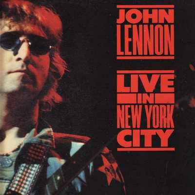 LP John Lennon - Live in New York city 1972