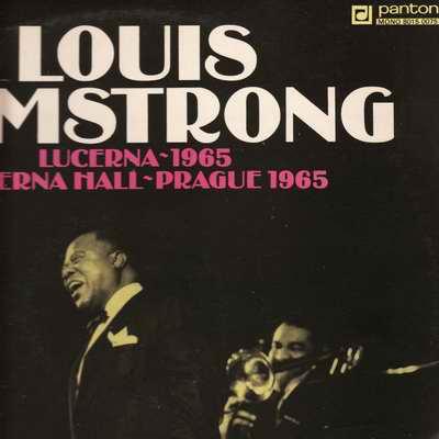 LP Louis Armstrong - Lucerna 1965