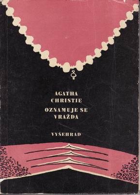 Oznamuje se vražda / Agatha Christie