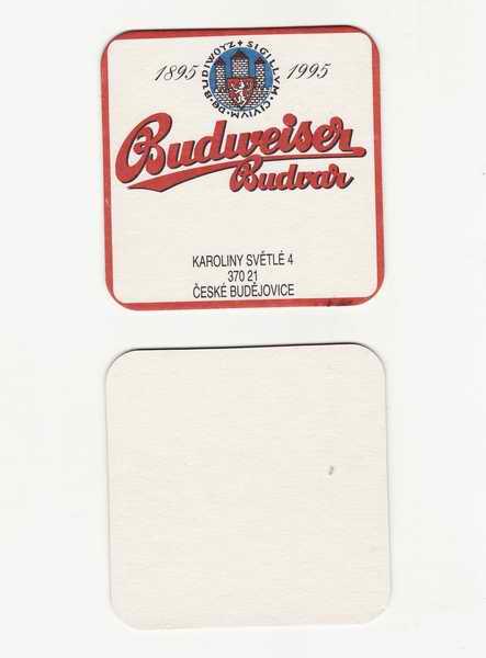 Budweiser Budvar 1895 - 1995