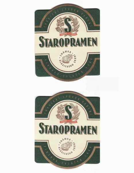 Staropramen známka klasického zrání 1889