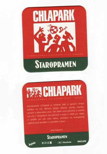 Staropramen - Chlapark plný zábavy