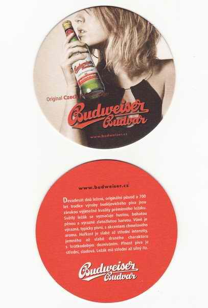 Budweiser Budvar, original Czech Premium Lager