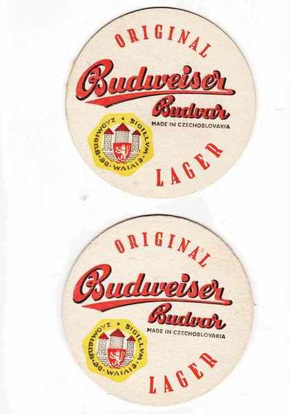 Budweiser Budvar originál, Lager