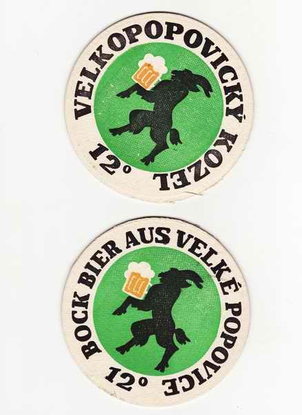 Velkopopovický Kozel 12, Bock Bier aus Velké Popovice