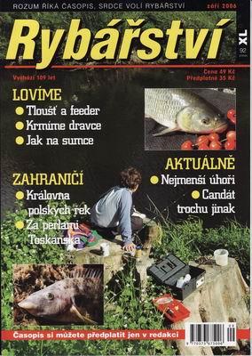 2006/09 časopis Rybářství