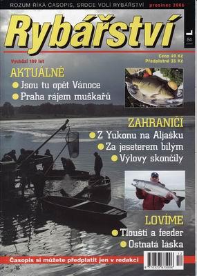 2006/12 časopis Rybářství