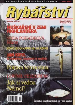 2004/02 časopis Rybářství