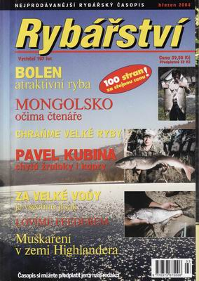 2004/03 časopis Rybářství