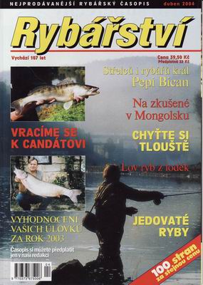 2004/04 časopis Rybářství