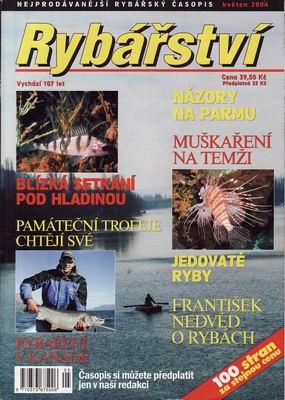 2004/05 časopis Rybářství