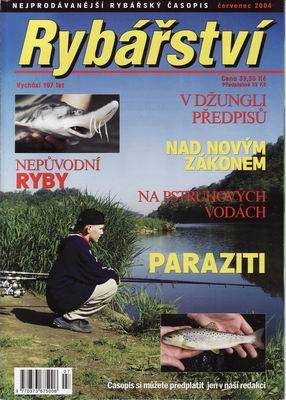 2004/07 časopis Rybářství