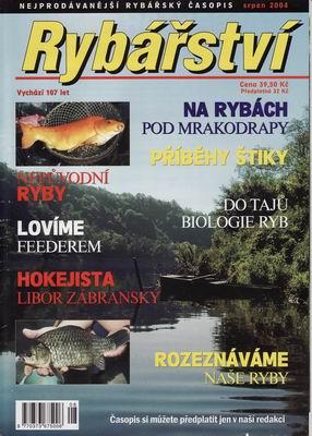 2004/08 časopis Rybářství