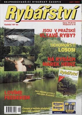 2004/09 časopis Rybářství