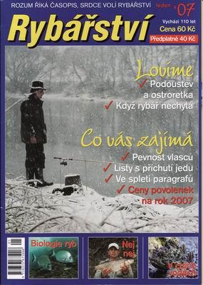 2007/01 časopis Rybářství