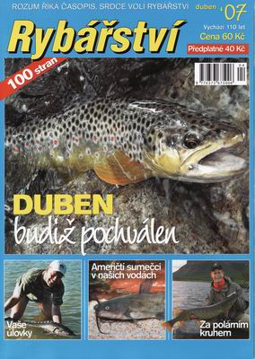 2007/04 časopis Rybářství