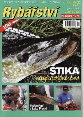 2007/06 časopis Rybářství
