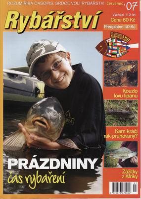 2007/07 časopis Rybářství